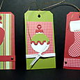 DIE CUT CHRISTMAS TAGS