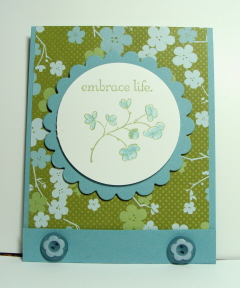 EMBRACE LIFE CARD