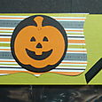 HALLOWE'EN TREAT BAG TOPPER