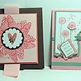 2 VALENTINE CARDS
