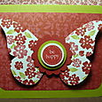 BE HAPPY BUTTERFLY CARD