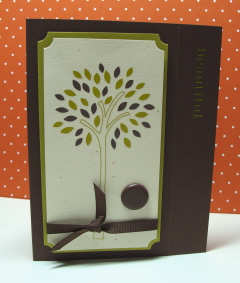 BEAUTIFUL TREE CARD