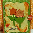 TULIP SHAVING CREAM CARD