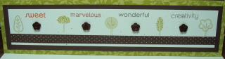SCRAPBOOK BUTTON BORDER