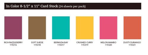 New In Colors Cardstock