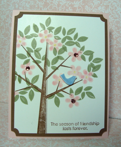 SEASON OF FREINDSHIP CARD