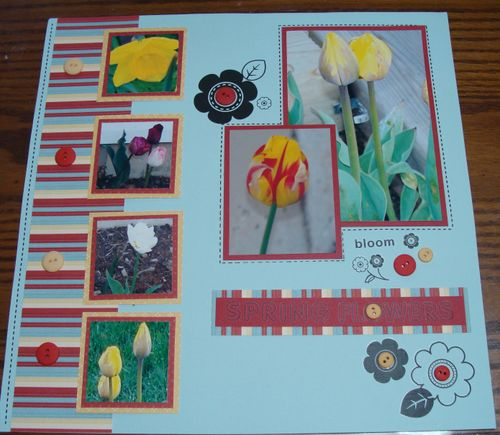 Spring Flowers Page
