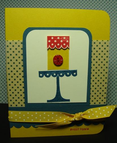 SWEET TREATS CARD