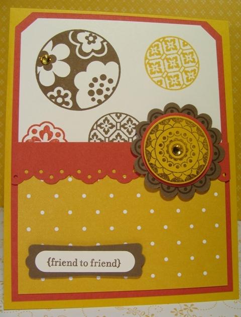 CIRCLE CIRCUS CARD