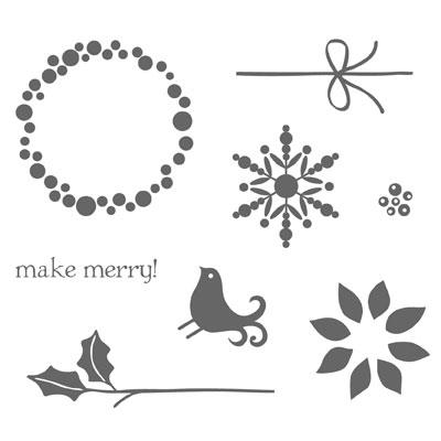 Berry Christmas Stamp Set