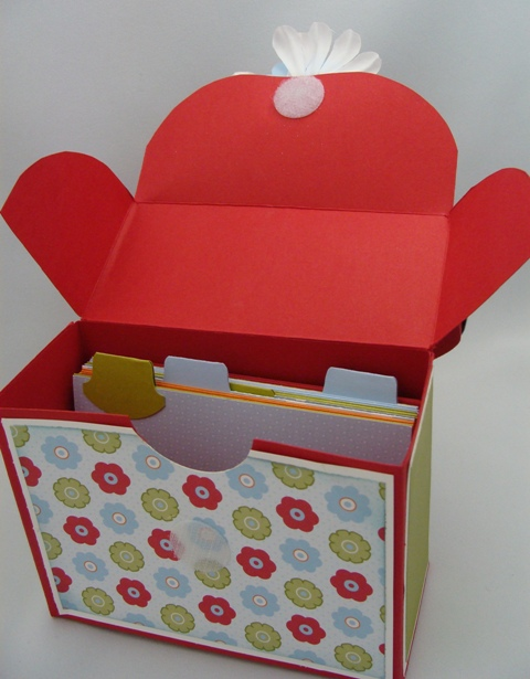 Recipe Box Inside
