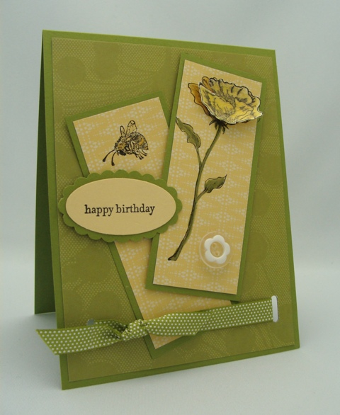 BLOSSOM BIRTHDAY CARD