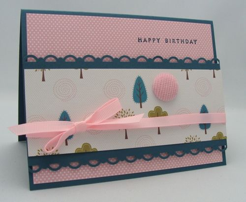 TREES BIRTHDAY CARD