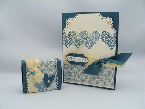 I LOVE YOU CARD & MATCHBOX