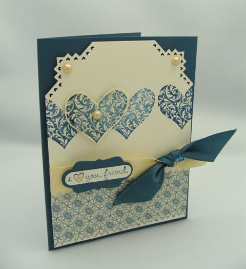 I LOVE YOU FRIEND CARD