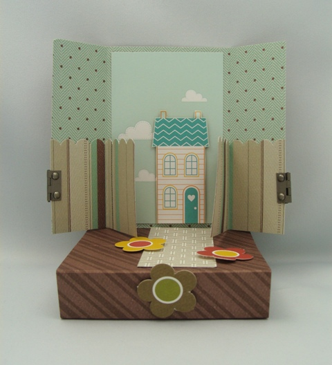 WELCOME NEIGHBOR POP UP CARD