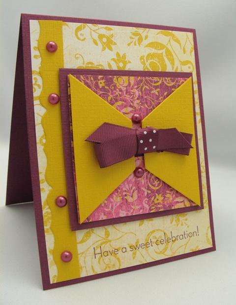 PEARLS & SWIRLS CARD