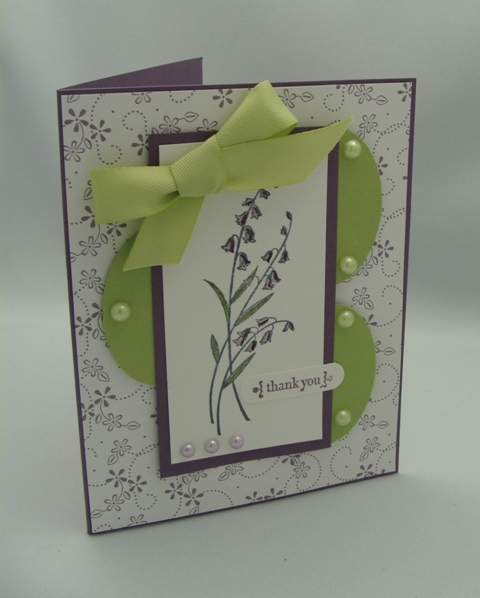 PEARLS & SWIRLS CARD #2