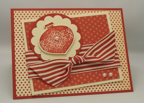 Ornament Pop-Up Card Front