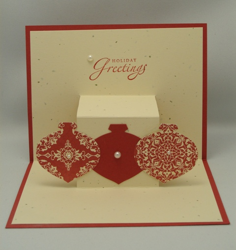 Ornament Pop-Up Card Inside