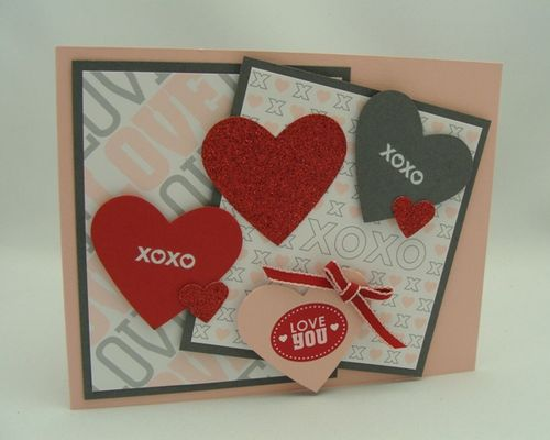 Lots of Hearts Card