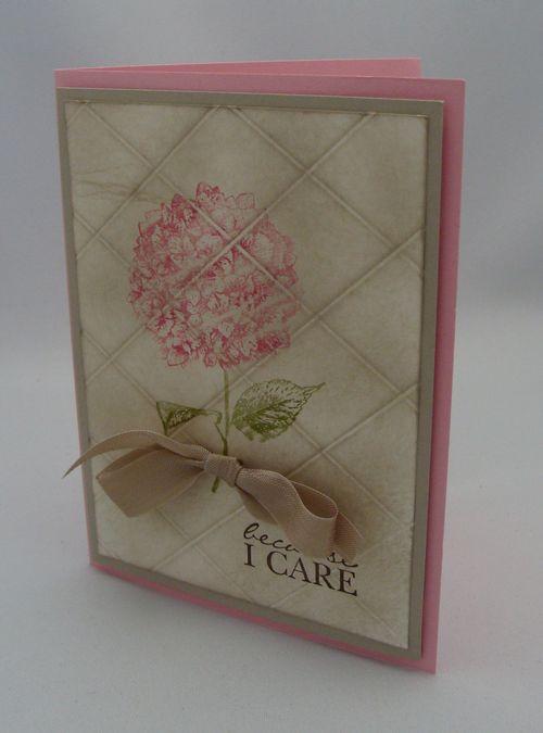 Faux Tile Card