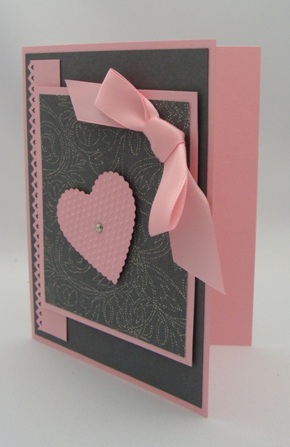 Pink Accents Card