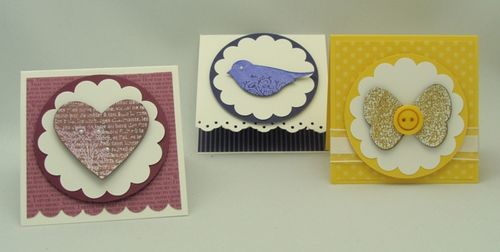 Embossed Painting Gift Cards