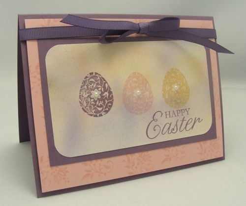 Easter Egg Trio Card