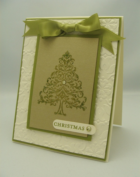 Double Embossed Tree