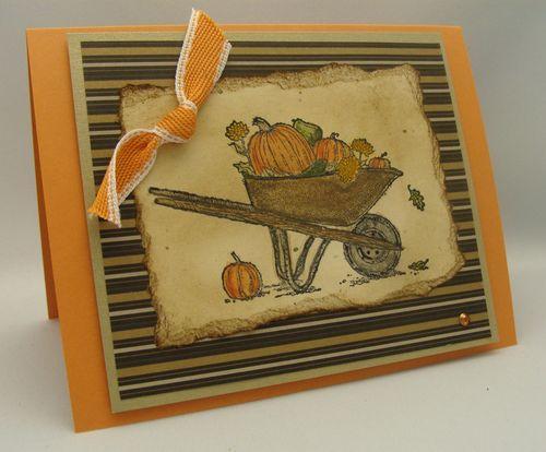 Pumpkins in the Wheelbarrow
