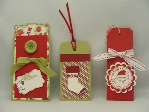 Red & Green Tags