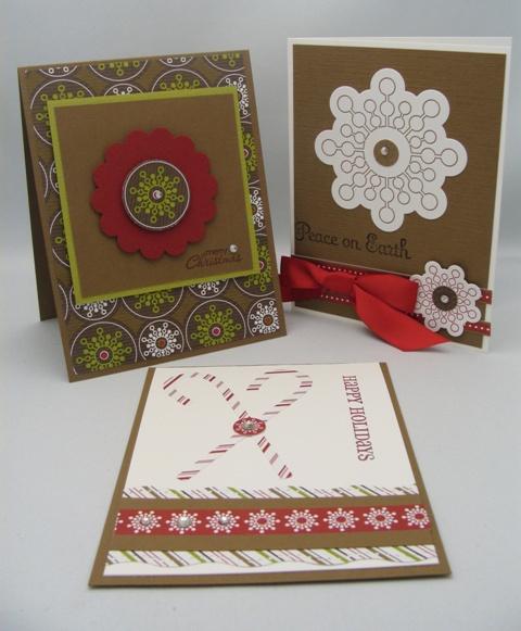 Soft Suede Cards 4, 5 + 6
