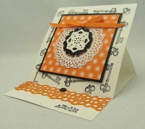 Armour Easel Card