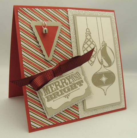 Pewter Embossed Card
