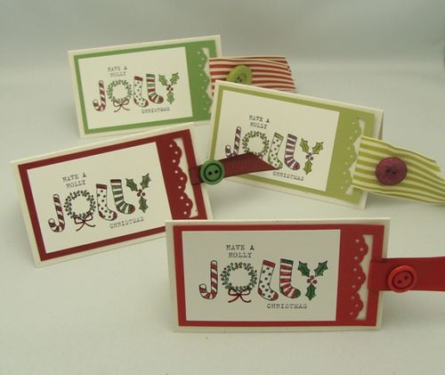 Holly Jolly Christmas Tags
