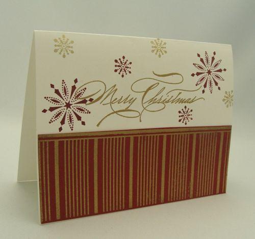 Letter Press Christmas