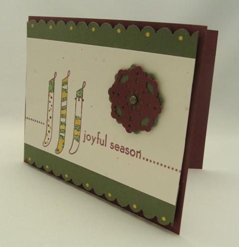 Joyful Season Card