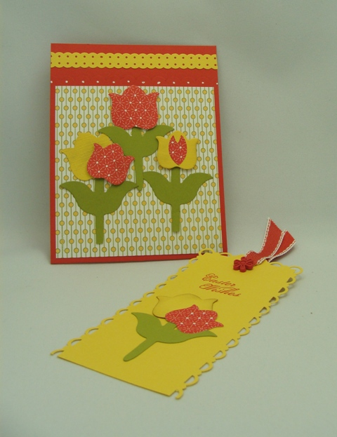 Tulip Card Pocket & Bookmark