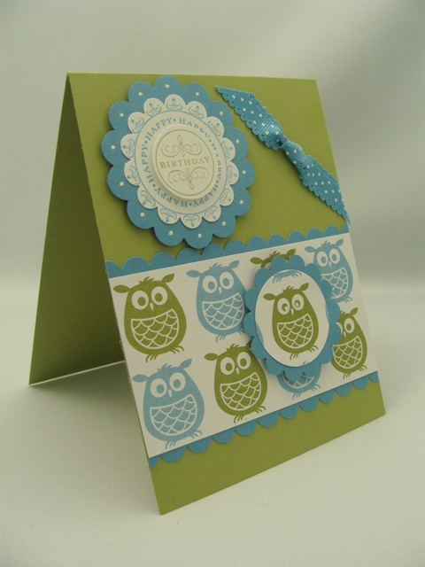 Lots of Owls Card