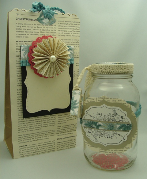 Gift bag and Gift Jar