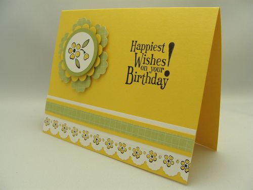 Scalloped Birthday Card