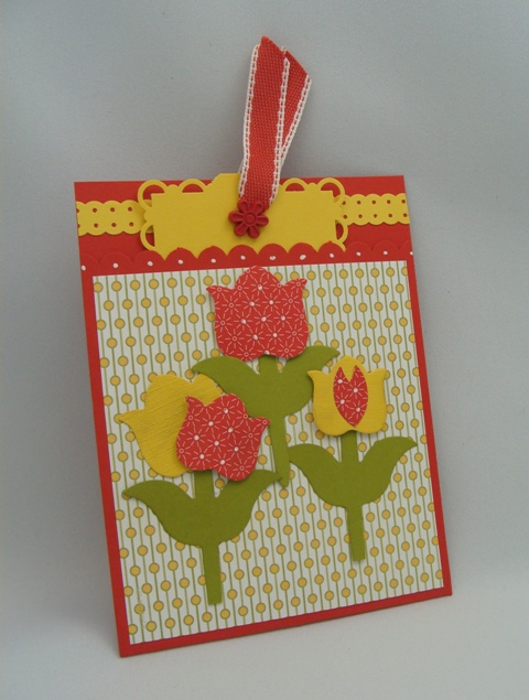 Tulip Pocket Card