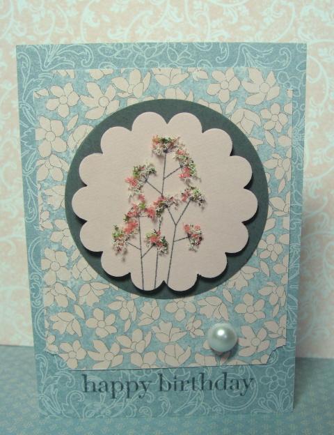 SCALLOP CARD