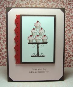 CUPCAKE TREE CARD