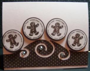 Gingerbread Men Card