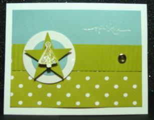 Sparkle Star Card